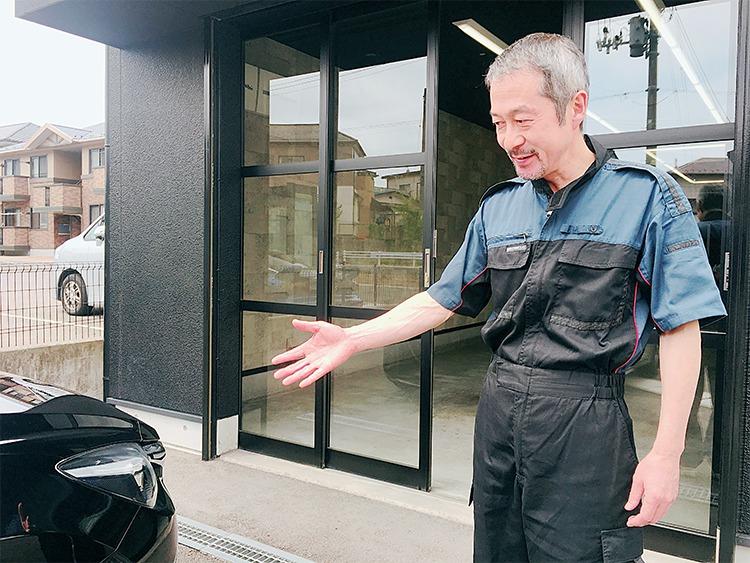 カーコーティング専門店リボルト郡山店主の店主の渡辺秀紀さん