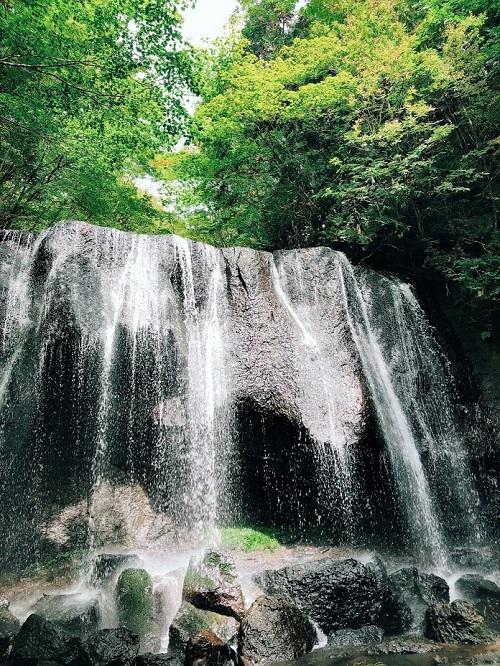 郡山付近のパワースポット - 達沢不動滝8